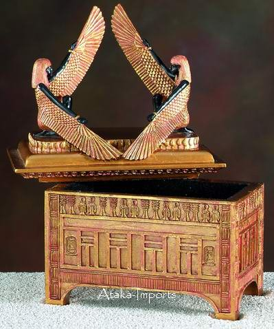 EGYPTIAN ISIS TRINKE-JEWELRY BOX  (5493 s)