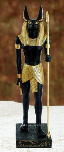 GRANT 4' LIFE SIZE EGYPTIAN ANUBIS STATUE-GORGEOUS (5906s)