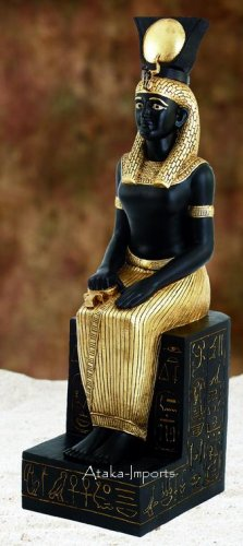 GRANT 4' LIFE SIZE EGYPTIAN CLEOPATRA-QUEEN STATUE (5967)