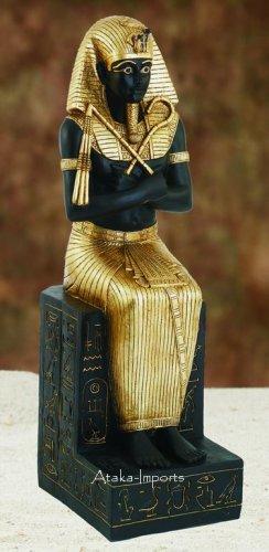 GRANT 4' LIFE SIZE EGYPTIAN PHARAOH KING STATUE (5968)