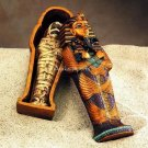 EGYPTIAN KING TUT COFFIN & MUMMY SET (5005)