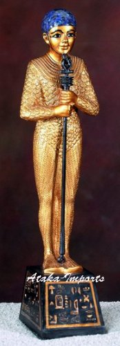 EGYPTIAN PTAH GOLDEN STATUE-EGYPT-NEAT (5481s)
