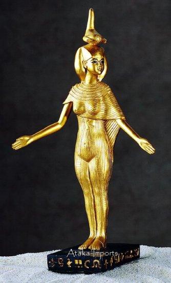 SERKET STATUE-EGYPTIAN GODDESS-NEAT (5280s)
