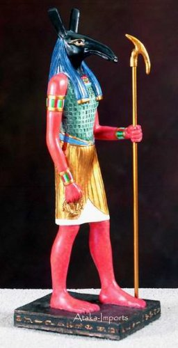 SETH STATUE -ANCIENT EGYPTIAN GOD  (5499)