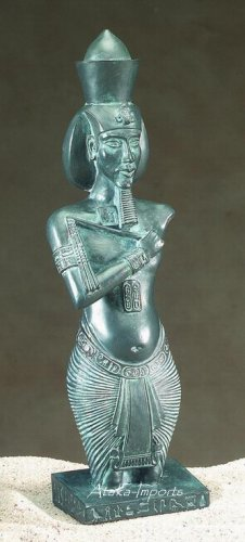 AKHENATEN STATUE-EGYPTIAN PHARAOH KING (5105)