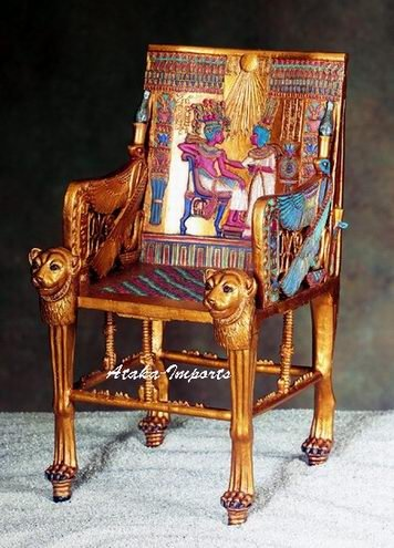 EGYPTIAN KING'S THRONE-GORGEOUS (5390s)