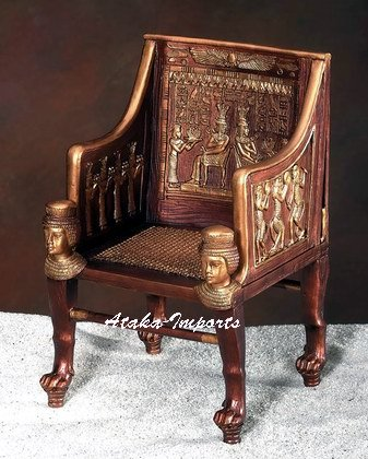 ANCIENT EGYPTIAN SITAMUM'S THRONE (5782)