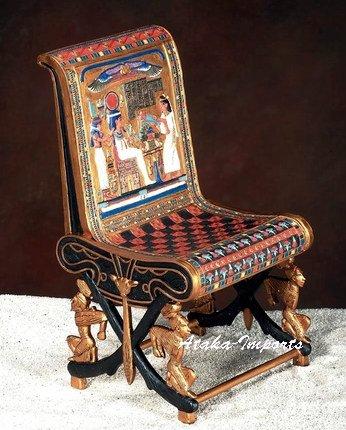 EGYPTIAN RAMESSES III KING'S THRONE (5784)