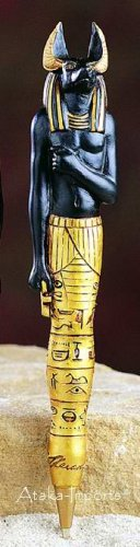 ANUBIS COLLECTOR PEN - EGYPTIAN  (5183s)