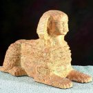 EGYPTIAN SPHINX STATUE-PHAROAH KHUFU (5485s)