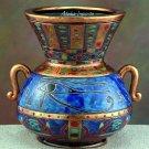 EYE OF HORUS-EGYPTIAN GOLDEN VASE (5590)