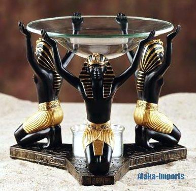 EGYPTIAN PHAROAH KING TUT AROMA OIL DIFFUSER (5957)