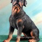 ROTTWEILER-ROTTIE- DOG FIGURINE-STATUE (5060s)