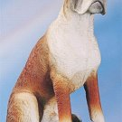 BOXER DOG FIGURINE (4584)