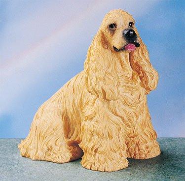 COCKER SPANIEL-BUFF COCKER SPANIEL DOG FIGURINE (4577s)