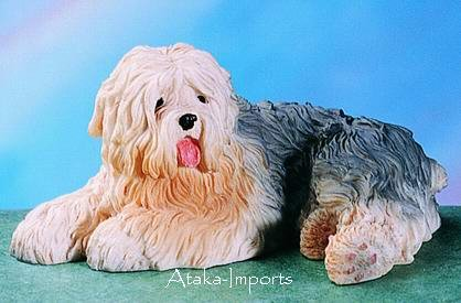 OLD ENGLISH SHEEPDOG DOG FIGURINE-BOBTAIL (4580)