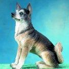 SIBERIAN HUSKY DOG FIGURINE (4578)