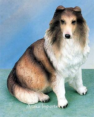 COLLIE DOG FIGURINE (4871)