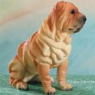 SHARPEI DOG FIGURINE (4956s)