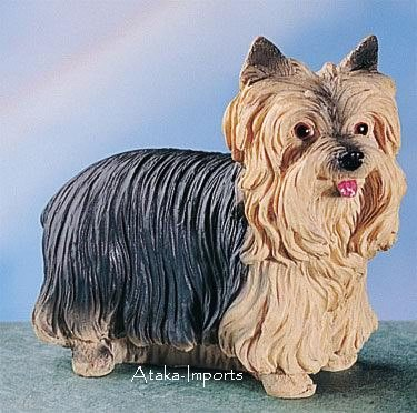 YORKSHIRE TERRIER DOG FIGURINE-YORKIE (4770s)