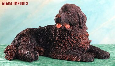 NEWFOUNDLAND DOG FIGURINE (4952)