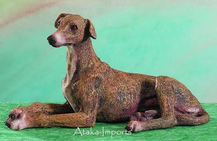 GREYHOUND DOG FIGURINE (4949 s)