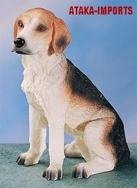 BEAGLE DOG FIGURINE (4767)