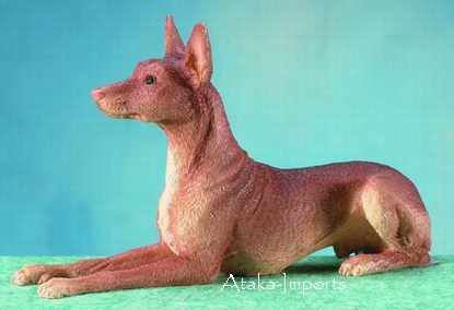 PHARAOH HOUND DOG FIGURINE (5673)