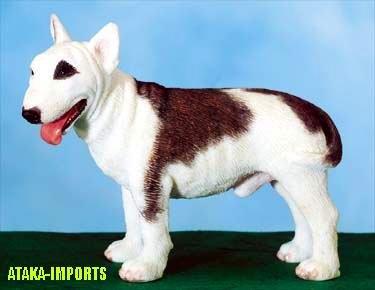 BULL TERRIER DOG FIGURINE (5471s)