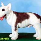 BULL TERRIER DOG FIGURINE (5471s)
