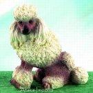 POODLE DOG FIGURINE (5028)