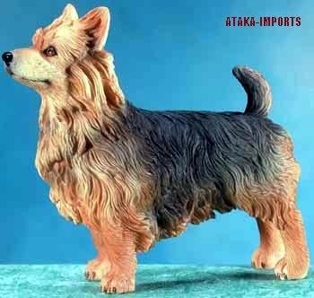 AUSTRALIAN TERRIER DOG FIGURINE-AUSSIE (5670)