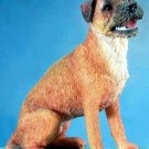 BORDER TERRIER DOG FIGURINE (5668)