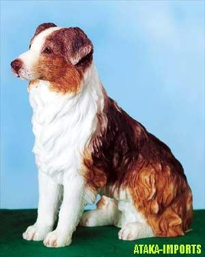 AUSTRALIAN SHEEP DOG FIGURINE (5468s)