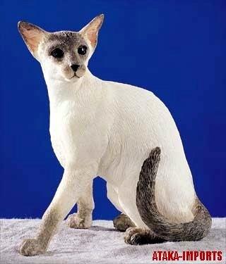 SIAMESE-BLUE POINT-CAT FIGURINE (5248s)