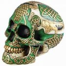 CELTIC LION SKULL STATUE MONEY BANK-SALE (6411)