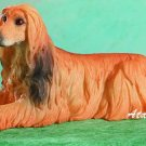 AFGHAN HOUND DOG FIGURINE (4945s)