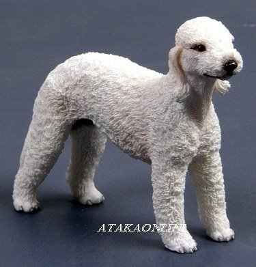 BEDLINGTON TERRIER DOG FIGURINE-ROTHBURY TERRIER (6562)