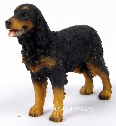 GORDON SETTER DOG FIGURINE (6327s)