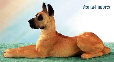 GREAT DANE DOG FIGURINE (5026)