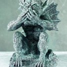 SPEAK NO EVIL-GARGOYLE STATUE-FIGURINE-GOTHIC (5132)