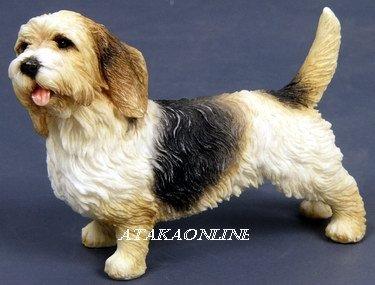 PETIT BASSET GRIFFON VENDEEN DOG FIGURINE-PBGV (6569)