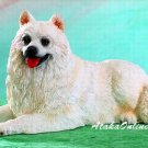 SAMOYED DOG FIGURINE (4951s)