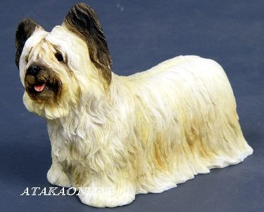SKYE TERRIER DOG FIGURINE (6570)