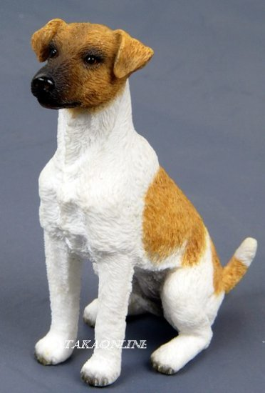 SMOOTH FOX TERRIER DOG FIGURINE-FOXIE (6560)