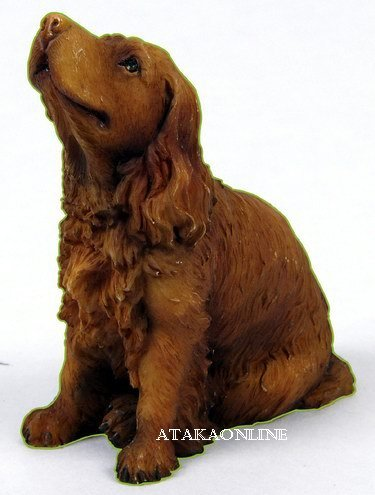 SUSSEX SPANIEL DOG FIGURINE (6325s)