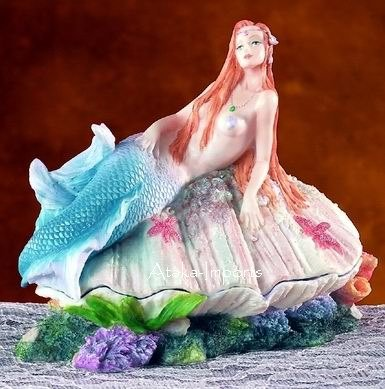 MERMAID TRINKET BOX-SEXY-BEAUTIFUL (5610)