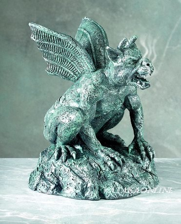 GARGOYLE INCENSE BURNER-GOTHIC (5136)