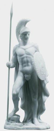 GOD ARES-MARS STATUE-GREEK-ROMAN ART SCULPTURE-SO NEAT (6137)