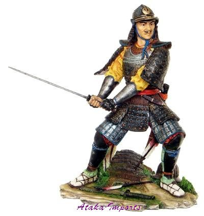 JAPANESS SAMURAI-ARMOR WARRIORS w SWORD (6253)